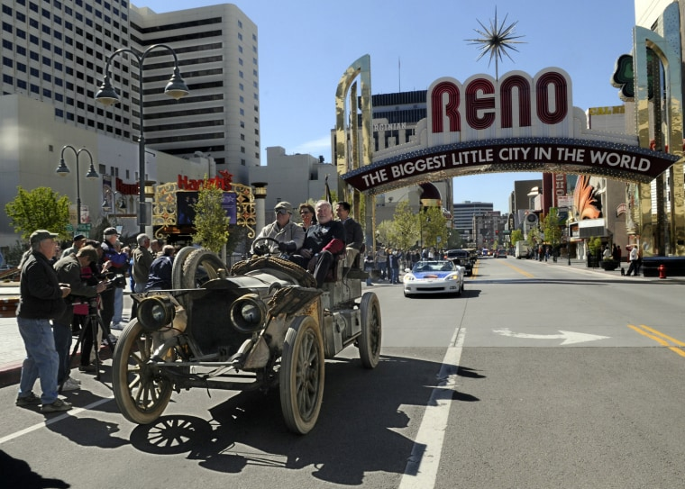 The city's economy relies on gaming and tourism, two industries which have been hit extremely hard by the recession.