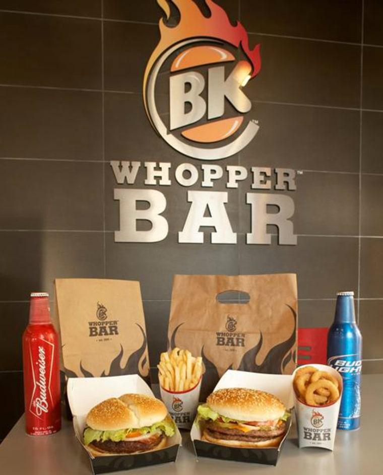 Image: Whopper Bar