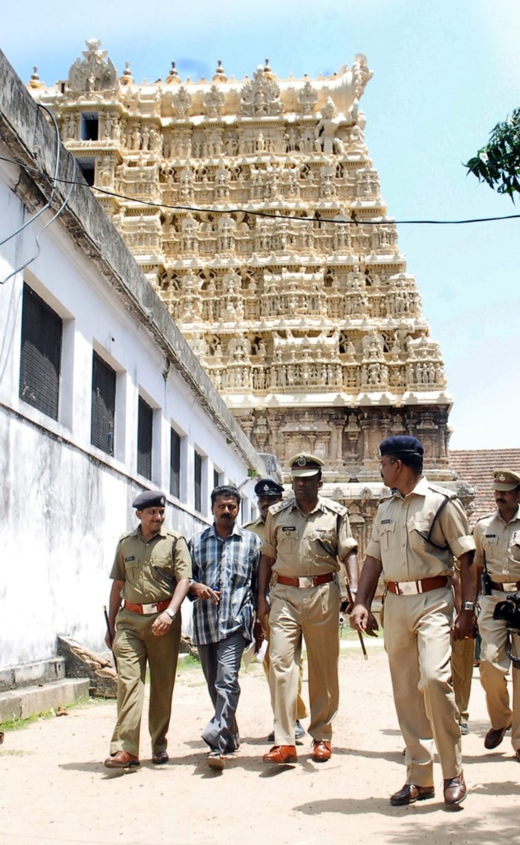 Image: Treasure worth billions found in Indian temple's secret chambers