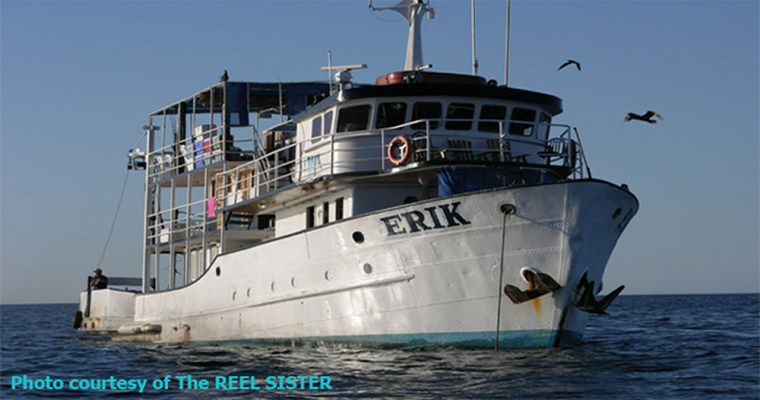 A file picture of The Erik, which capsized and sank in an electrical storm off Mexico's Baja California peninsula.