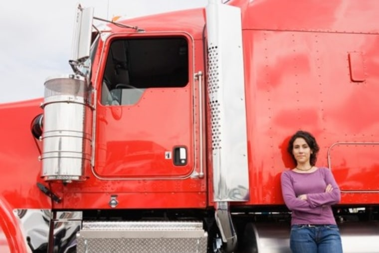 Image: Truck driver