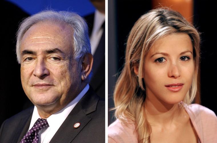 Image: Dominique Strauss-Kahn, Tristane Banon,