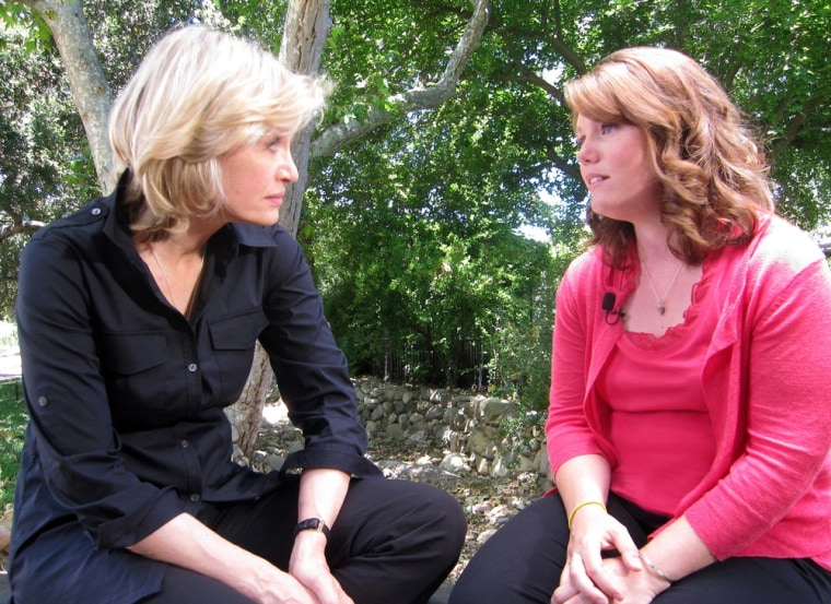 Image: Publicity handout shows Jaycee Dugard talking to ABC's Diane Sawyer in her first interview since being freed from captive in 2009