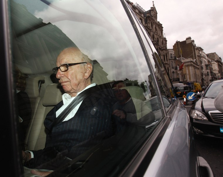 Image: Investigations Into Phone Hacking Allegations Continues