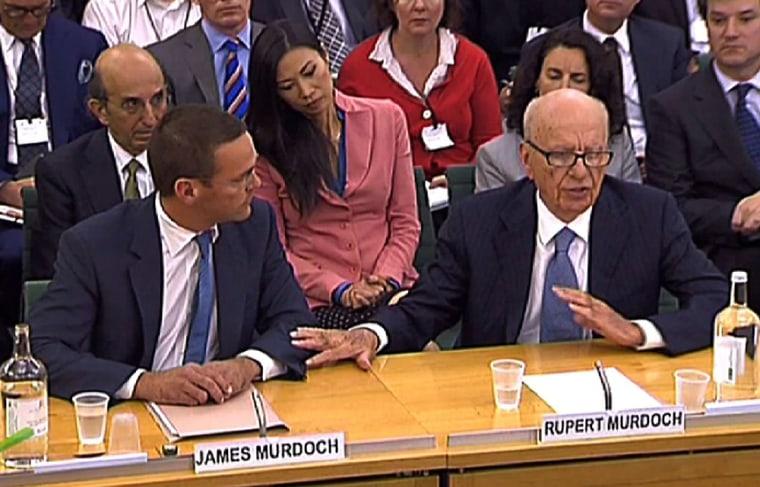 Image: Rupert Murdoch, James Murdoch