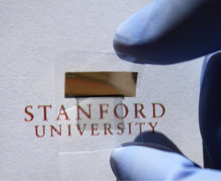Researchers have created a transparent battery that can be used to power gadgets such as smartphones and laptops.