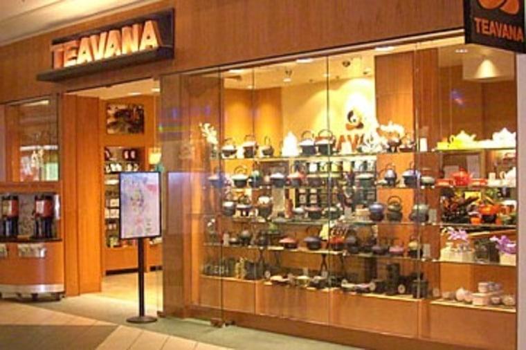 Image: Teavana shop