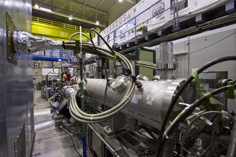 Image: ASACUSA experiment