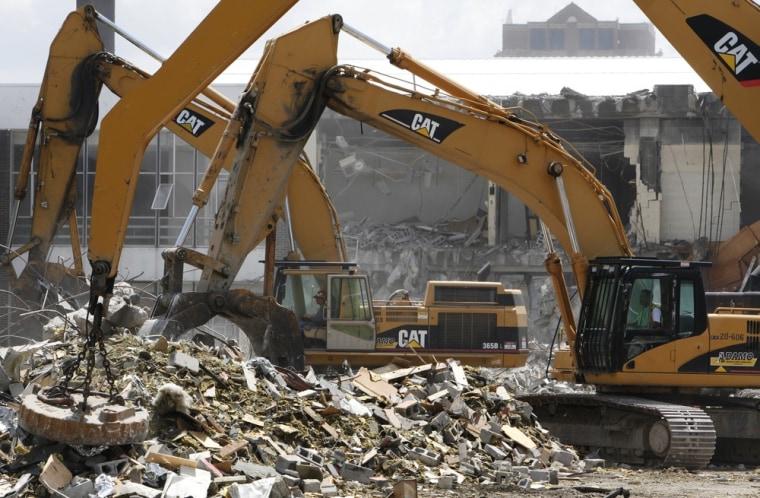 Image: Caterpillar excavators