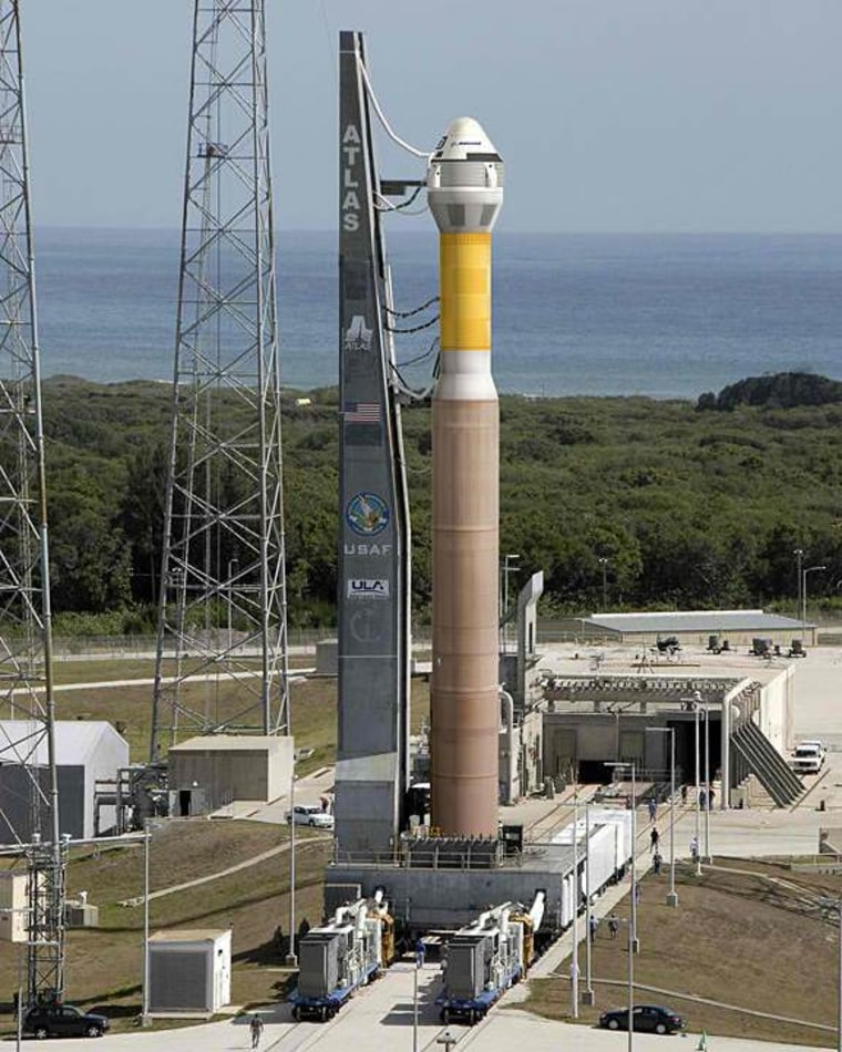 Image: Boeing CST-100 and Atlas 5