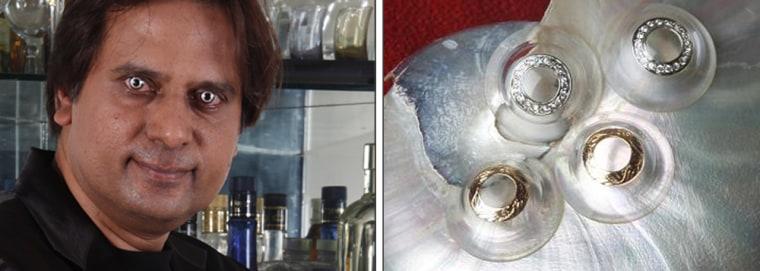 Image: Diamond eye contact lenses by Shekhar Eye Research