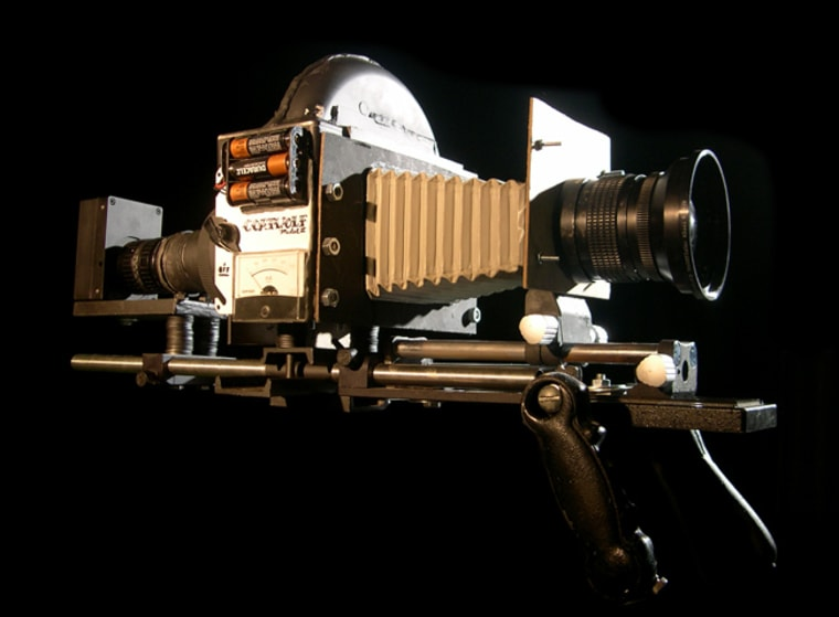 """The much-talked-about indie film """"Bellflower"""" was shot with hand-made cameras built exclusively for the film. Most notably this Coatwolf Model II Ultra Large Format."""
