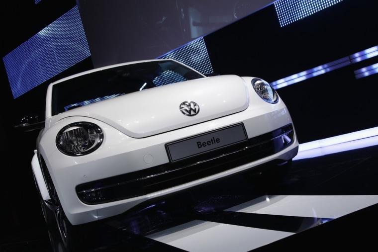 Image: Volkswagen Presents New VW Beetle