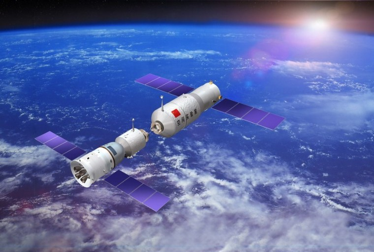 Image: China space rendezvous