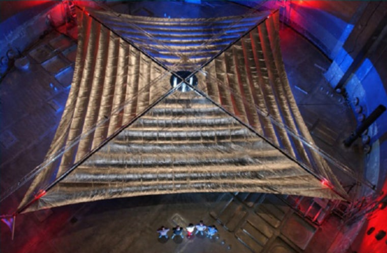 Led by L'Garde Inc., of Tustin, Calif., this Solar Sail demonstration will enable propellantless in-space navigation for missions such as advanced geostorm warning, economic orbital debris removal, and deep space exploration.