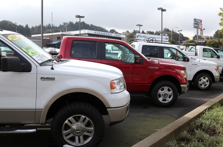 Image: FILE: Ford To Recall 1.1M Pickups
