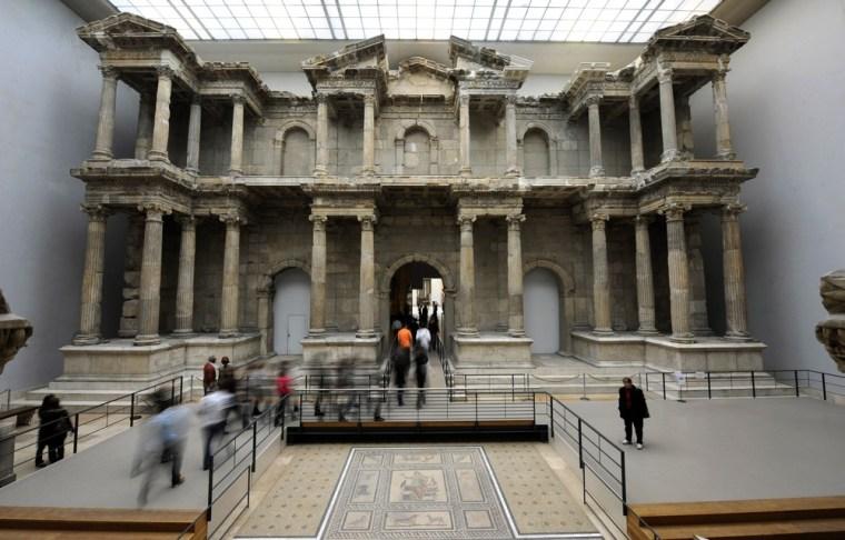 Image: GERMANY-ARCHAEOLOGY-RECONSTRUCTION-MILET