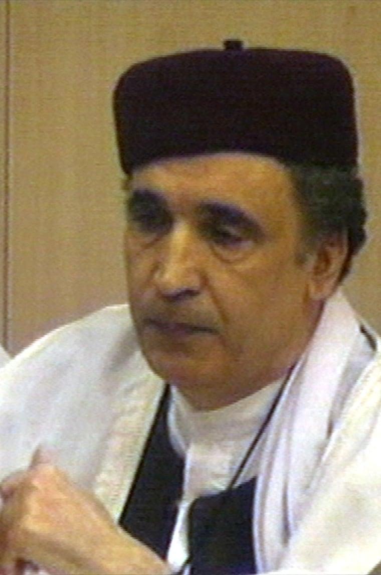 Image: Abdel Basset al-Megrahi