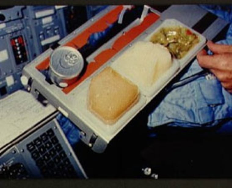 Astronauts en route to Mars may have more appealing food choices since they might grow their own food.