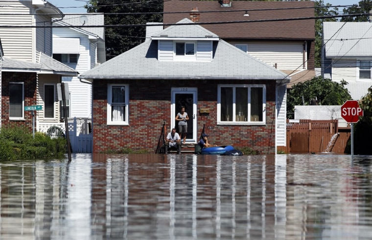 Image: To match SPECIAL REPORT - Irene wallops floundering flood insurance program