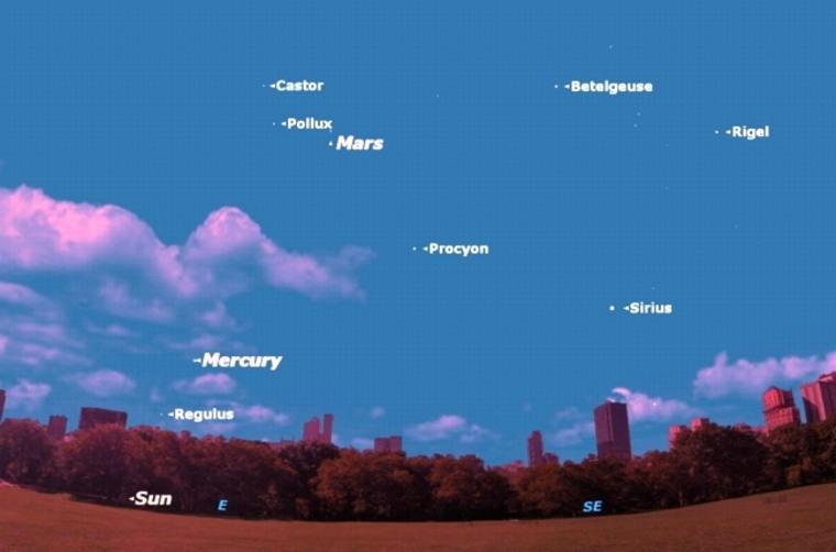 Image: Viewing Mercury