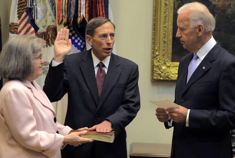 Image: David Petraeus Sworn In As CIA Director