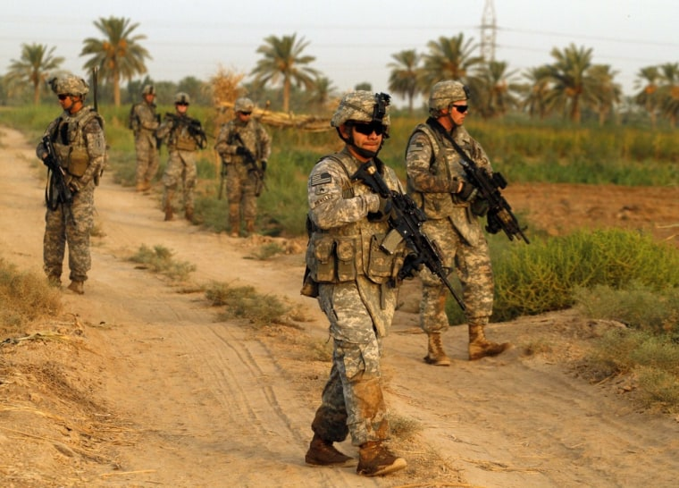 Image: U.S. Army soldiers from 1st Battalion