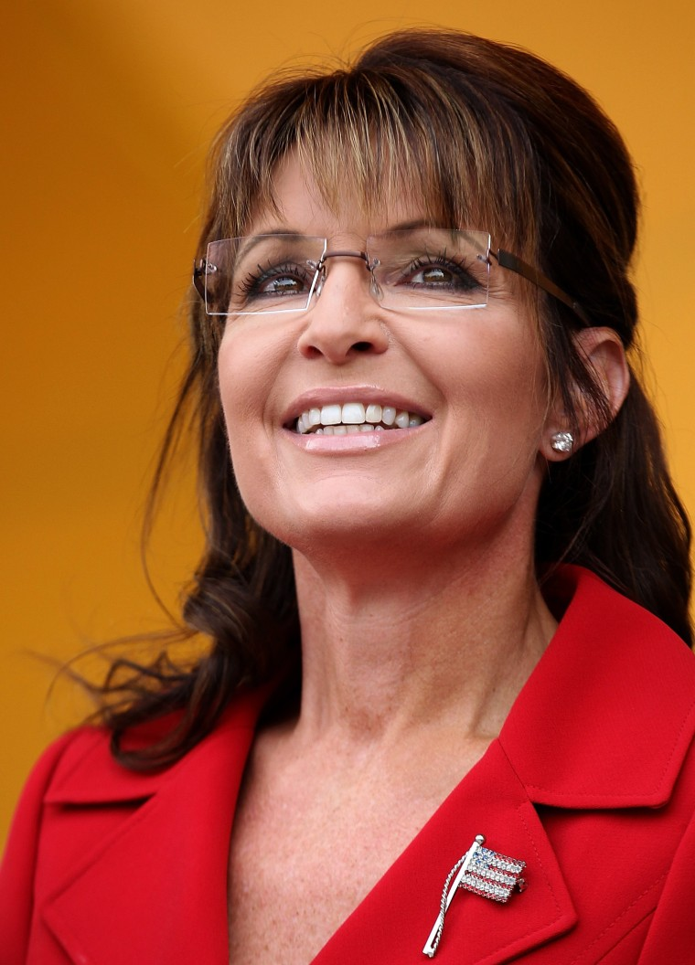 Image: Sarah Palin Addresses Tea Party Rally In New Hampshire On Labor Day