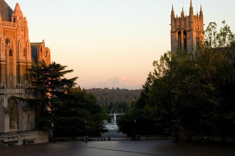 Image: University of Washington campus
