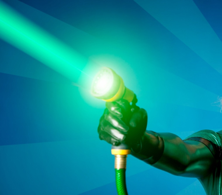 Harnessing the sun's energy into a laser gets a step closer to happening — and not as a weapon but as renewable energy.