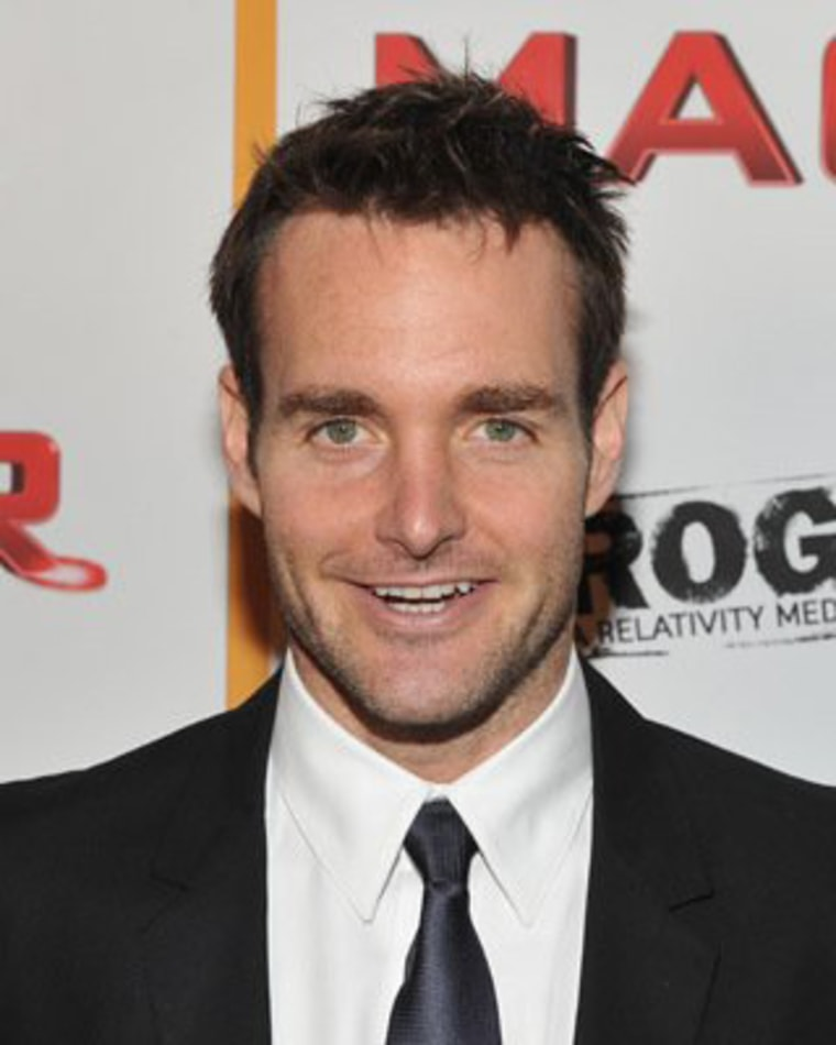 """Will Forte at """"MacGruber"""" event."""