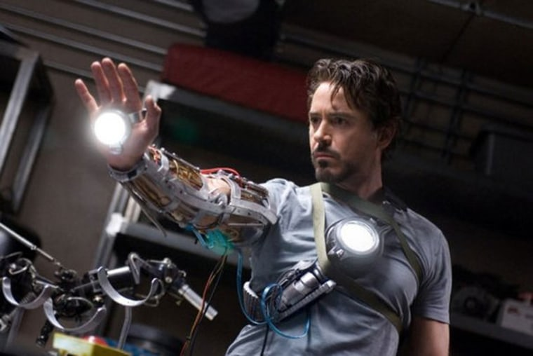 Shot from Iron Man