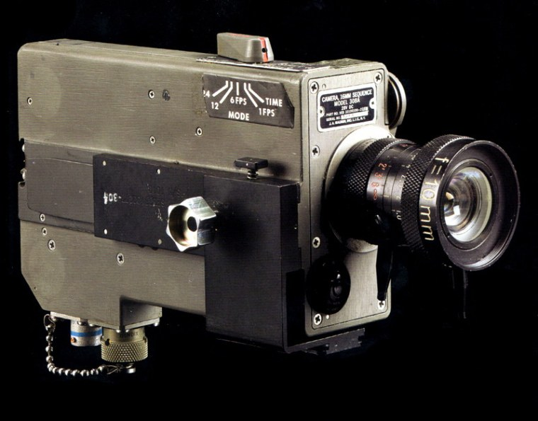 This Data Acquisition Camera, which was flown to the moon's surface by Apollo 14 in 1971, is now the focus of a lawsuit against the astronaut who tried to sell it.