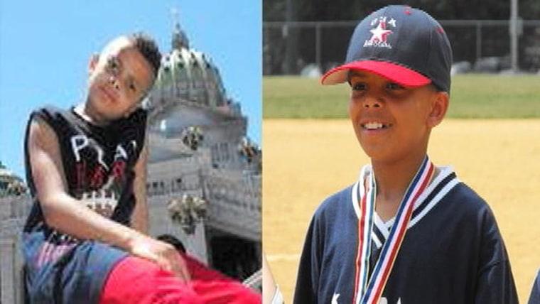 Missing 11 year old William McQuain.