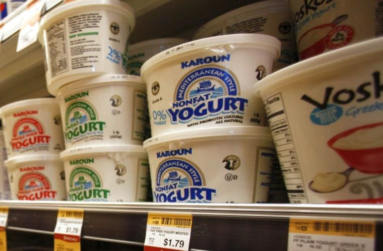 Image: Food Yogurt's Progress