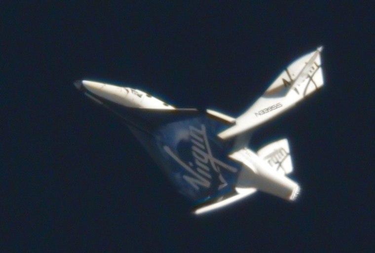 Image: Virgin Galactic's suborbital passenger ship SpaceShipTwo