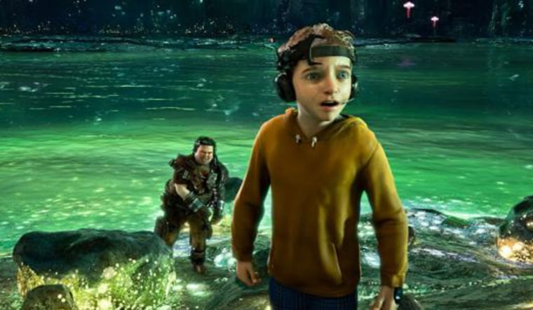 """Image: Characters from the movie \""""Mars Needs Moms\"""""""