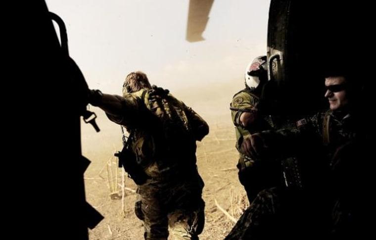 Image: U.S. military drop zone survey, Haiti
