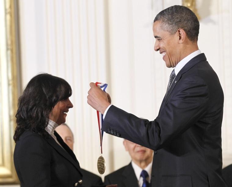 Image: Barack Obama, Jacqueline Barton