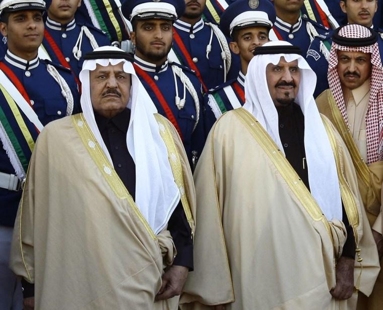 Image: Prince Nayef, Crown Prince Sultan