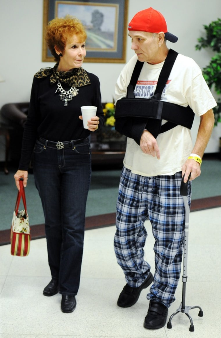 Image: Mark Lindquist and his sister, Linda Baldwin