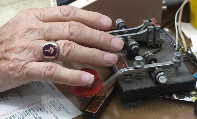 Image: Telegraph key