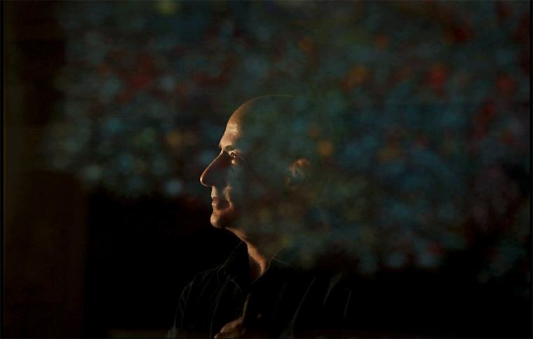 Image: Richard Einhorn, a music composer who uses a hearing aid