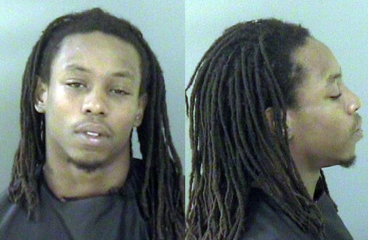 Leviticus Taylor, 25, escaped from the Indian River County jail early Monday. Police say he now has cropped hair, and tattoos on his arms.