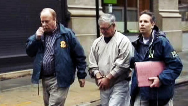 One of the suspects expected to be charged in connection with the LIRR pension scandal is taken into custody by the FBI.