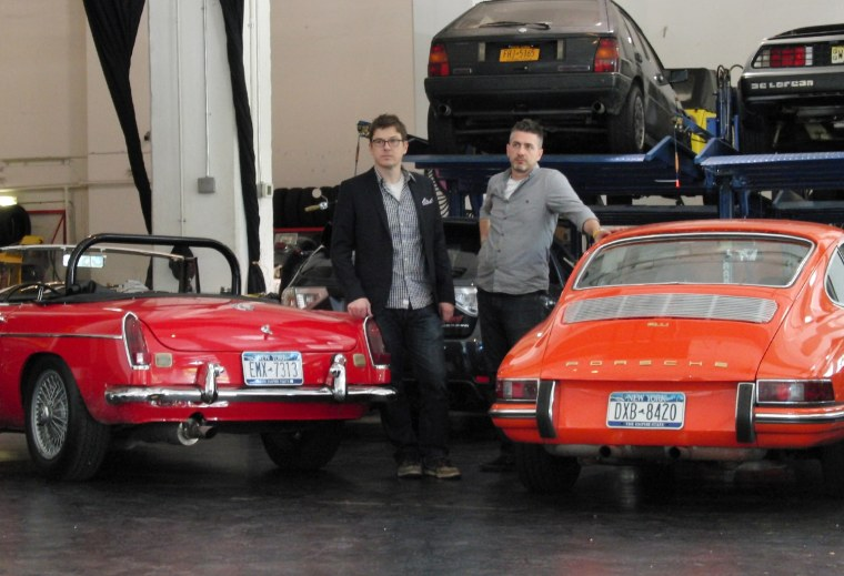 Michael Prichinello, right,and Zac Moseleyhave a pretty cool job. As owners of the Classic Car Club in New York, they go shopping for their favorite classic cars and, when their not renting them out, take them out for a spin.
