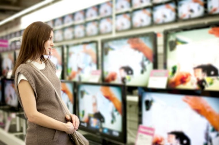 Shoppers have all kinds of choices to make when it comes to buying an HDTV.