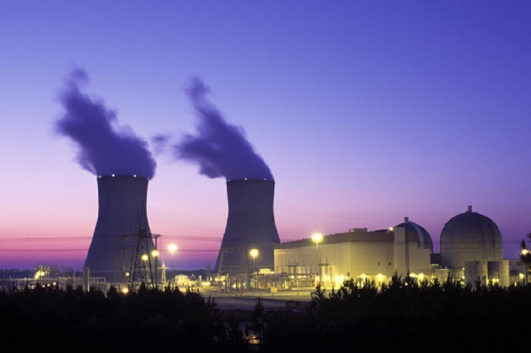 Reactions similar to those inside this nuclear power plant in Georgia arose spontaneously around 2 billion years ago in the Oklo region of Gabon, Africa.