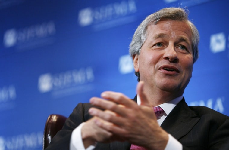 Image: Jamie Dimon, chairman and CEO of JPMorgan Chase