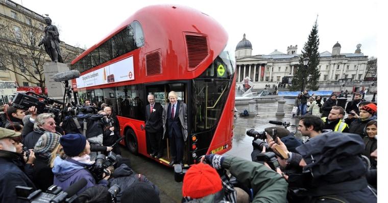 Image: London Mayor unveils new bus for London